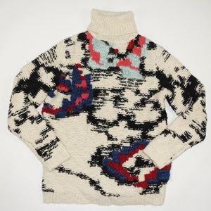 Isabel Marant Etoile Chunky Ski Turtleneck Sweater